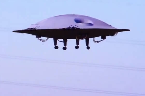 ADIFO - A Revolutionary, Fully Functional Flying Saucer Just Like A UFO