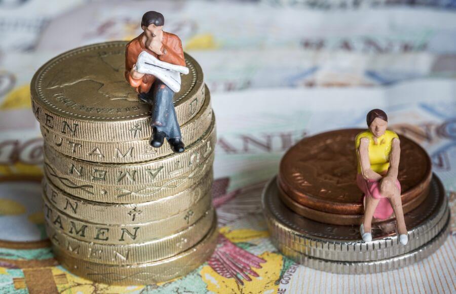 gender wage gap in business