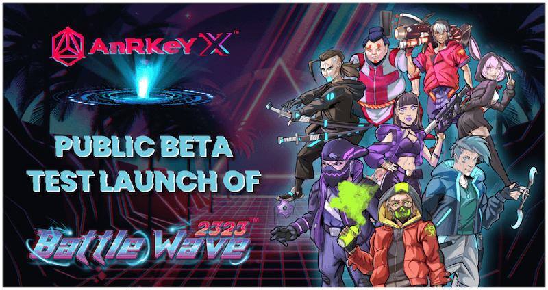 AnRKey X DeFi NFT and Esports Game Battle Wave 2323