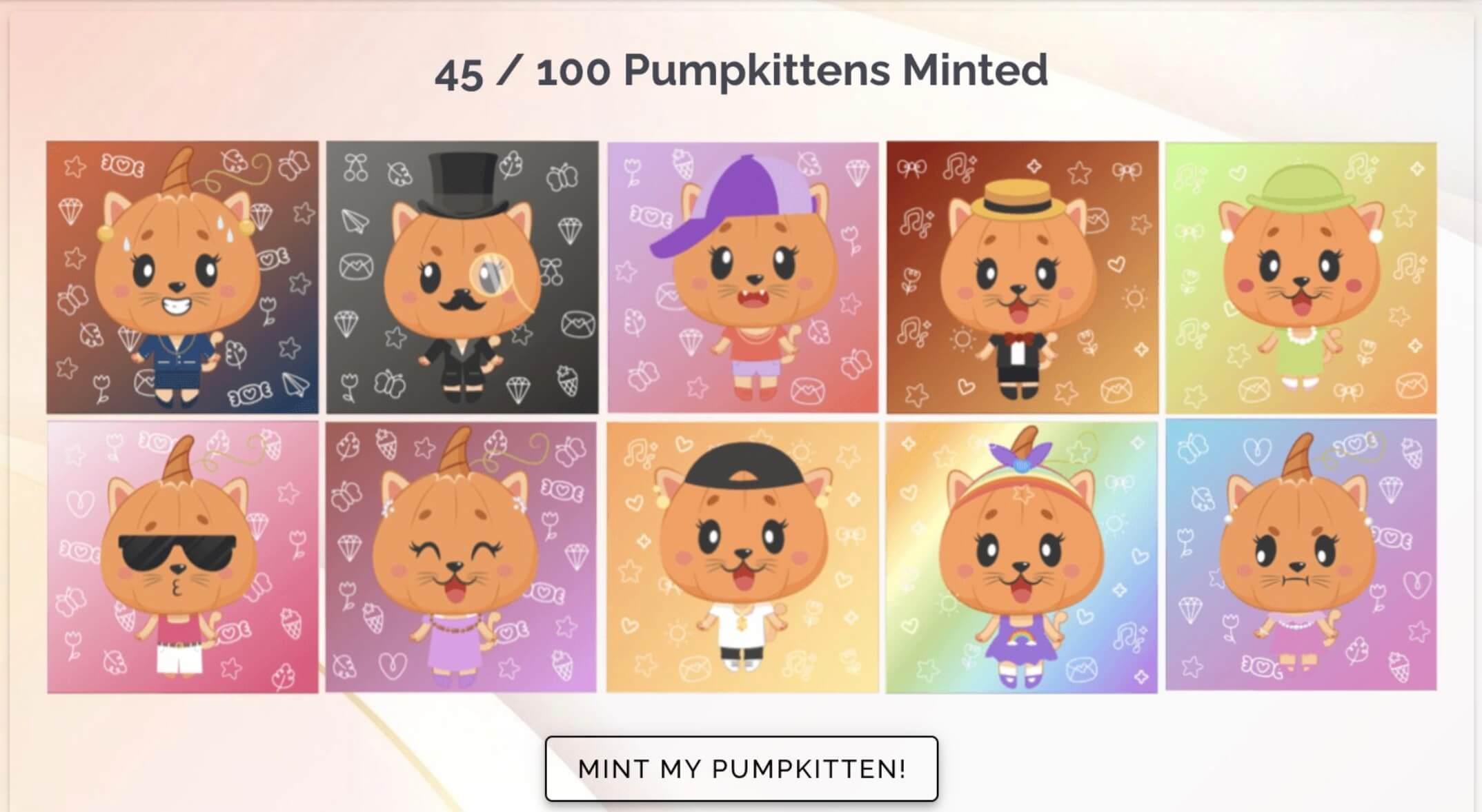 Pumpkittens NFT